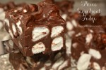 3 Ingredient Chocolate Marshmallow Fudge