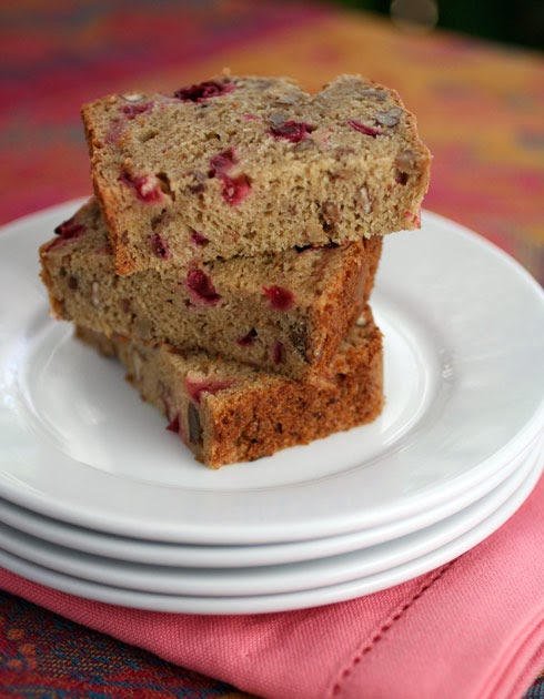 Gluten-Free Goddess Recipes: Gluten-Free Cranberry Bread Recipe