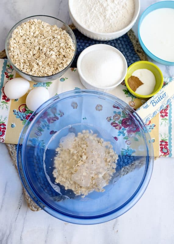 Preparing AnyTime, Any Kind Oatmeal Muffins