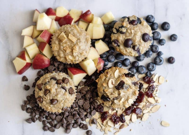 AnyTime, Any Kind Oatmeal Muffins