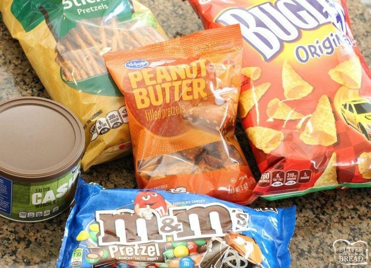 gameday popcorn mix recipe
