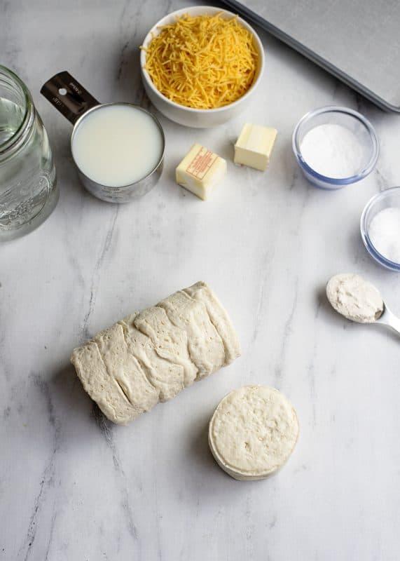 Ingredients for Biscuit Pretzels