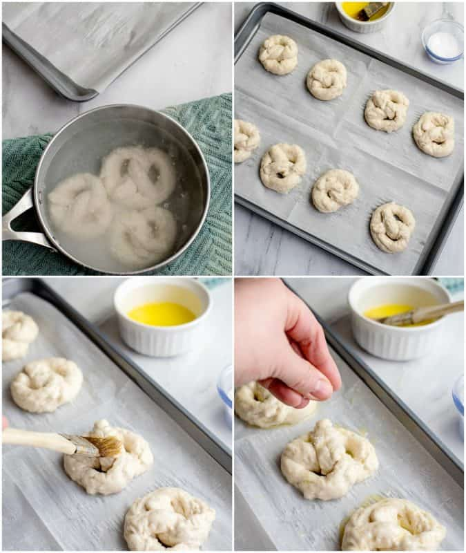 Making Biscuit Pretzels - AMAZING Pretzels From Canned Biscuits!