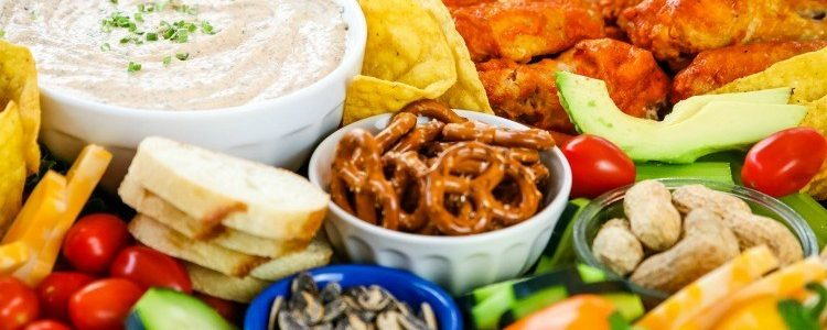 SMOKY RANCH DIP & GAME DAY SNACK TRAY