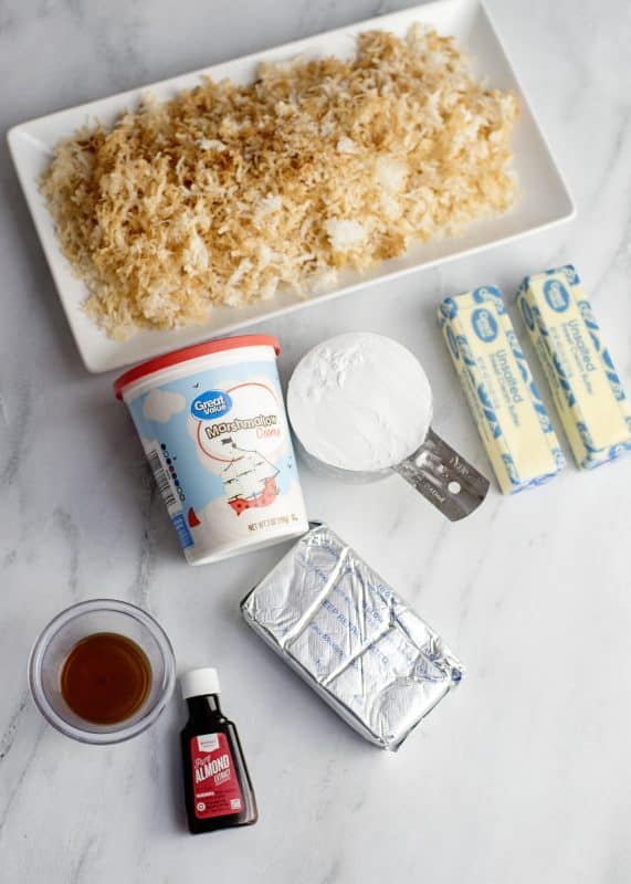 Jyl's Italian Cream Cake Icing Ingredients