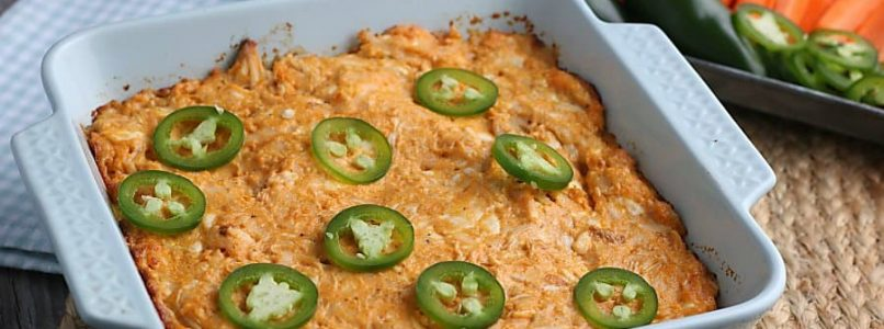 Buffalo Chicken Dip (Low Carb, Gluten-Free) 1