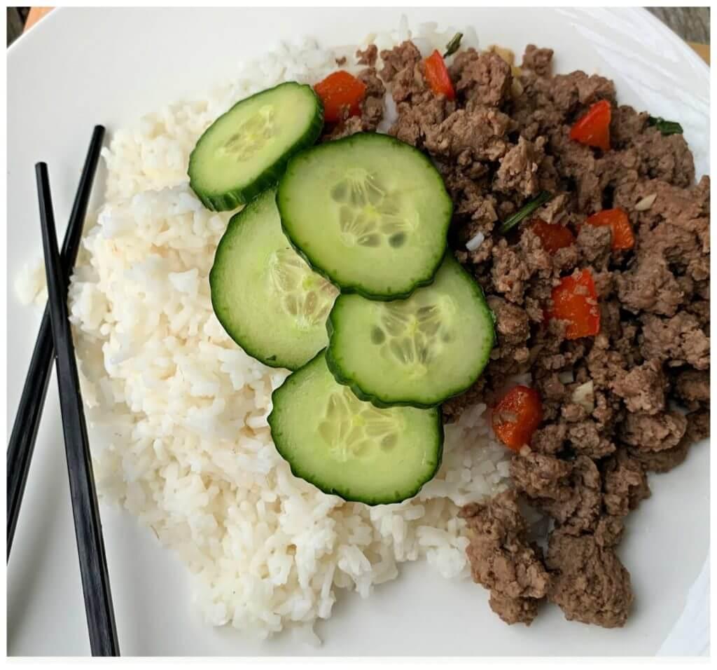 Asian Inspired Thai Beef Recipe