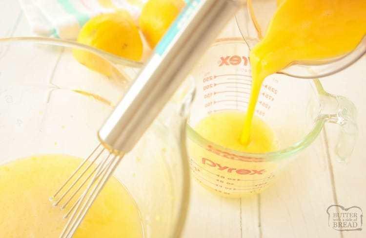 tempering eggs for lemon curd