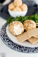 mini cheeseball recipe