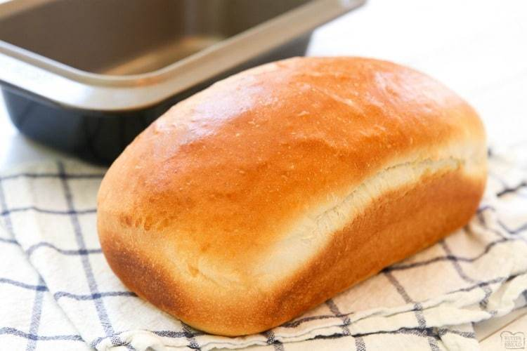 Wait for bread to cool before taking it out of the pan