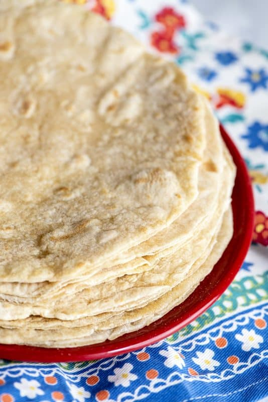 3 Ingredient Tortillas - Super Easy! (Unleavened Bread for Passover!)