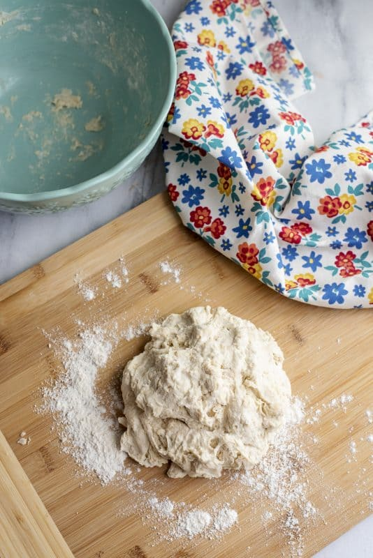 Dough for 3 Ingredient Tortillas - Super Easy! (Unleavened Bread)