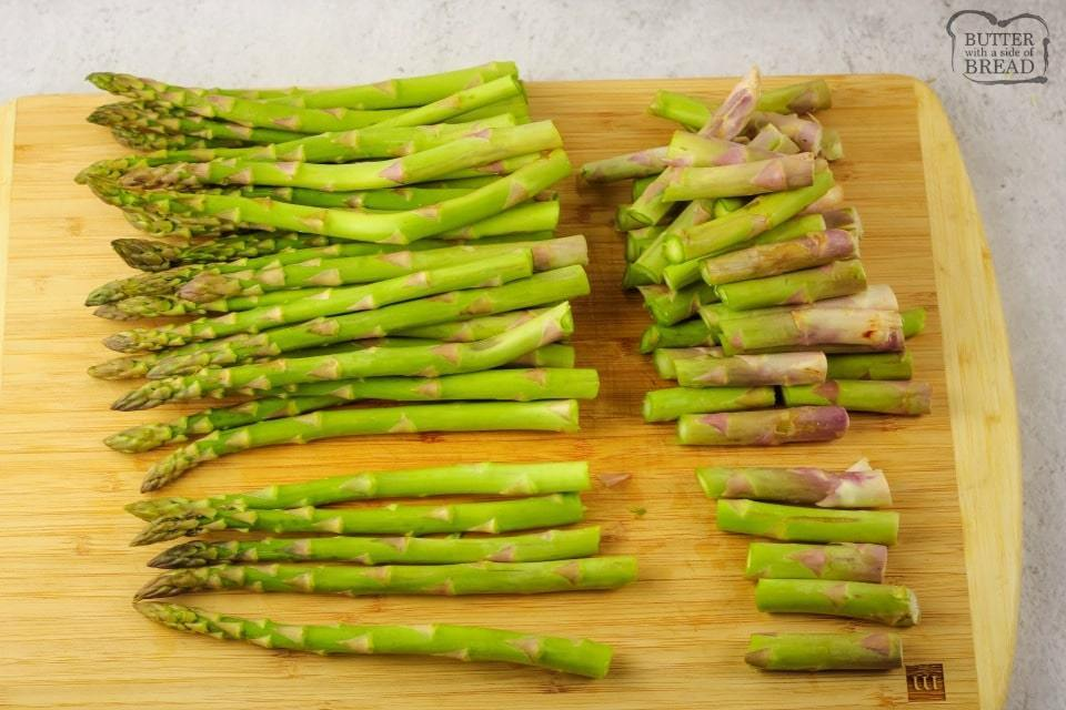 How to make asparagus in the oven