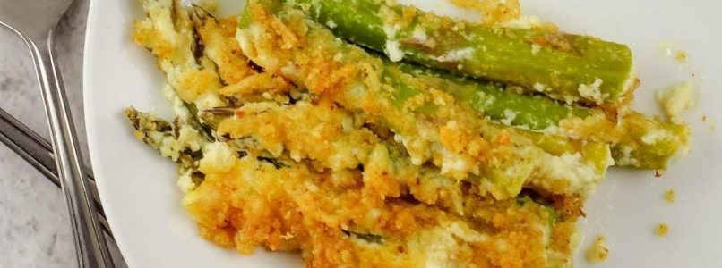 CREAMY BAKED ASPARAGUS - Butter with a Side of Bread