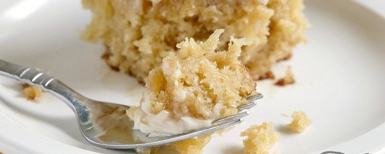 EASY PINEAPPLE CAKE - Butter with a Side of Bread