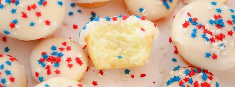 EASY VANILLA CAKE BITES - Butter with a Side of Bread