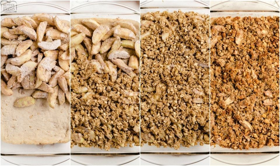 How to make Easy Apple Pie Bars recipe