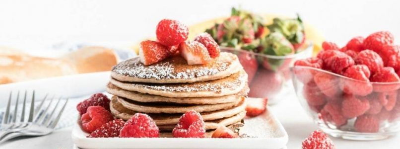 EASY PROTEIN PANCAKE RECIPE - Butter with a Side of Bread