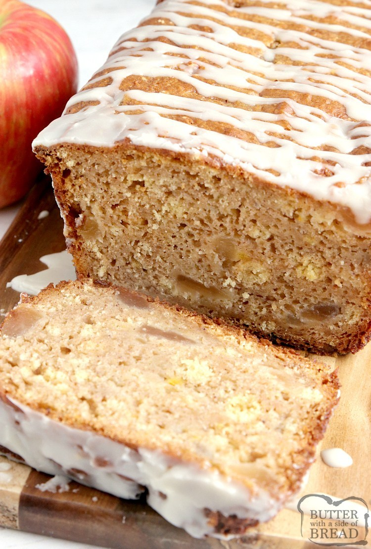 Quick bread recipe made with apple pie filling