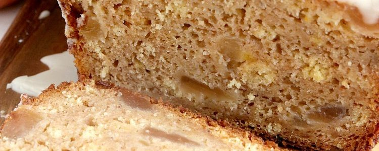 APPLE PIE QUICK BREAD - Butter with a Side of Bread