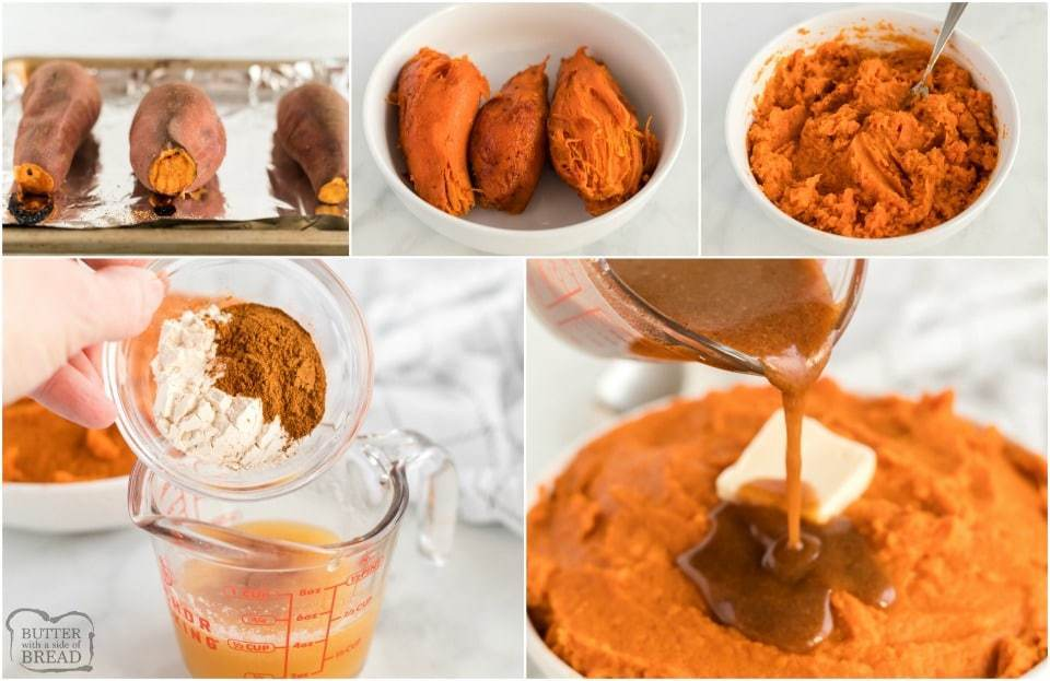 How to make Mashed Sweet Potatoes with Maple Cinnamon Butter