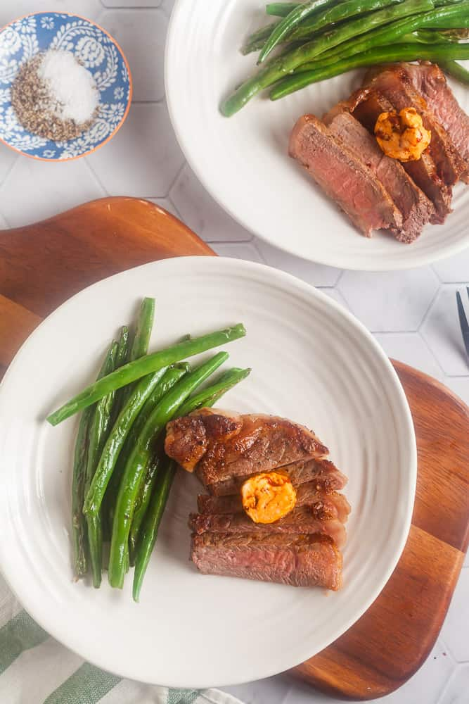 Seared Steaks with Chipotle Compound Butter 2