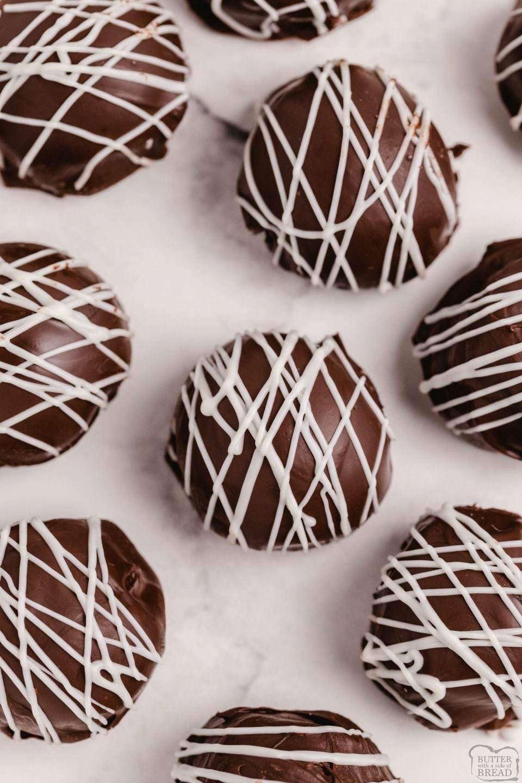 Easy 5 Ingredient Homemade Chocolate Truffles