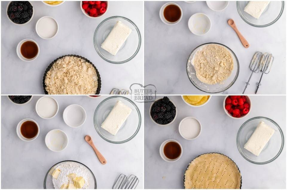 how to make a fruit tart
