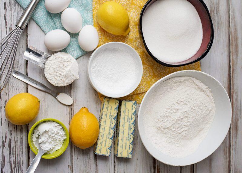 Ingredients Lemon Bars