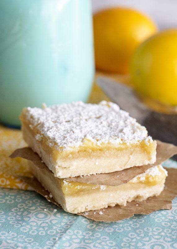 lemon bar stack