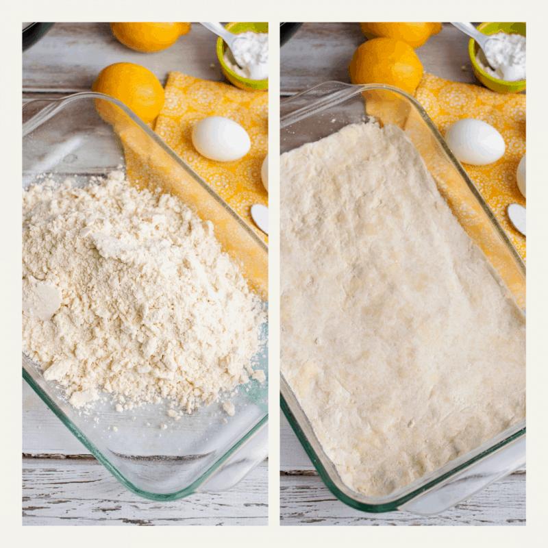 lemon bar base