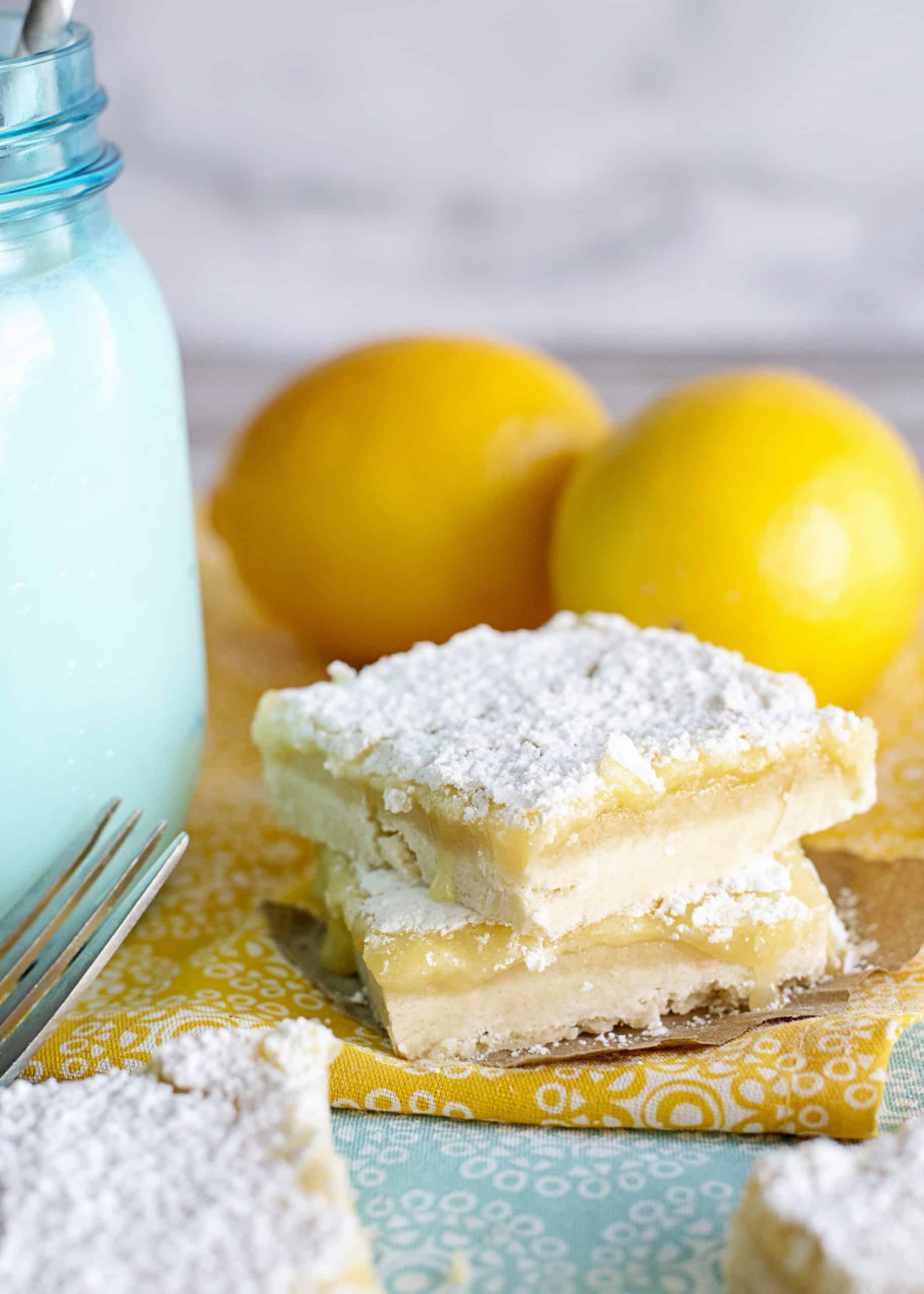 Lemon zest bar