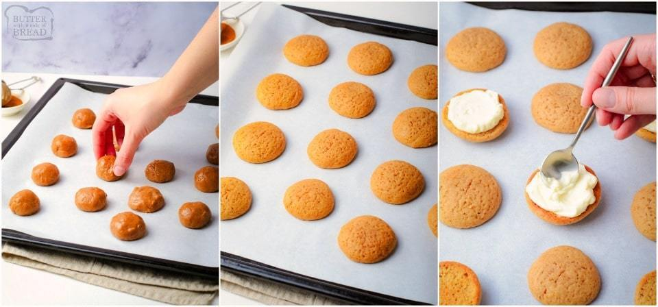 how to make Easy Homemade Gingerbread Whoopie Pies recipe