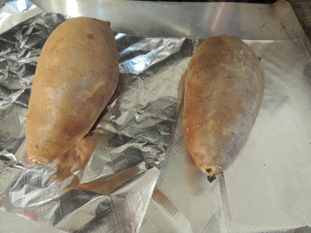 Perfect Baked Sweet Potatoes