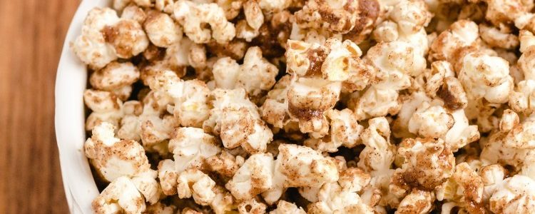 MAPLE PUMPKIN SPICE POPCORN - Butter with a Side of Bread