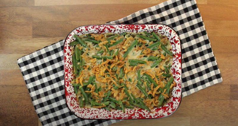 baked Green bean casserole