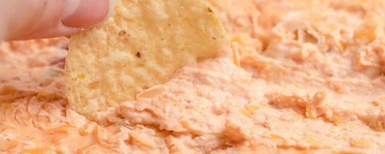 CHEESY SALSA DIP - Butter with a Side of Bread