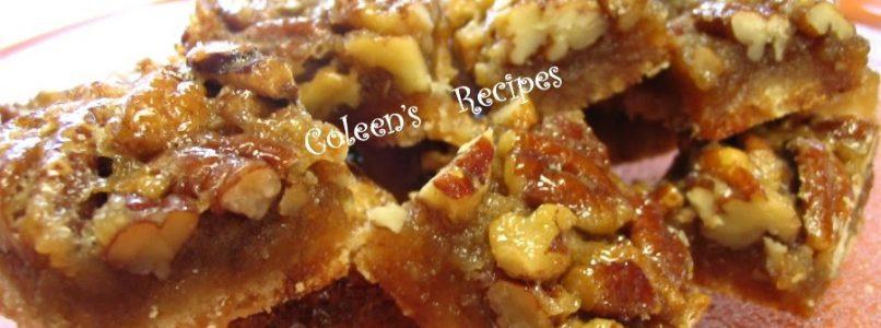 Coleen's Recipes: PECAN PIE BITES