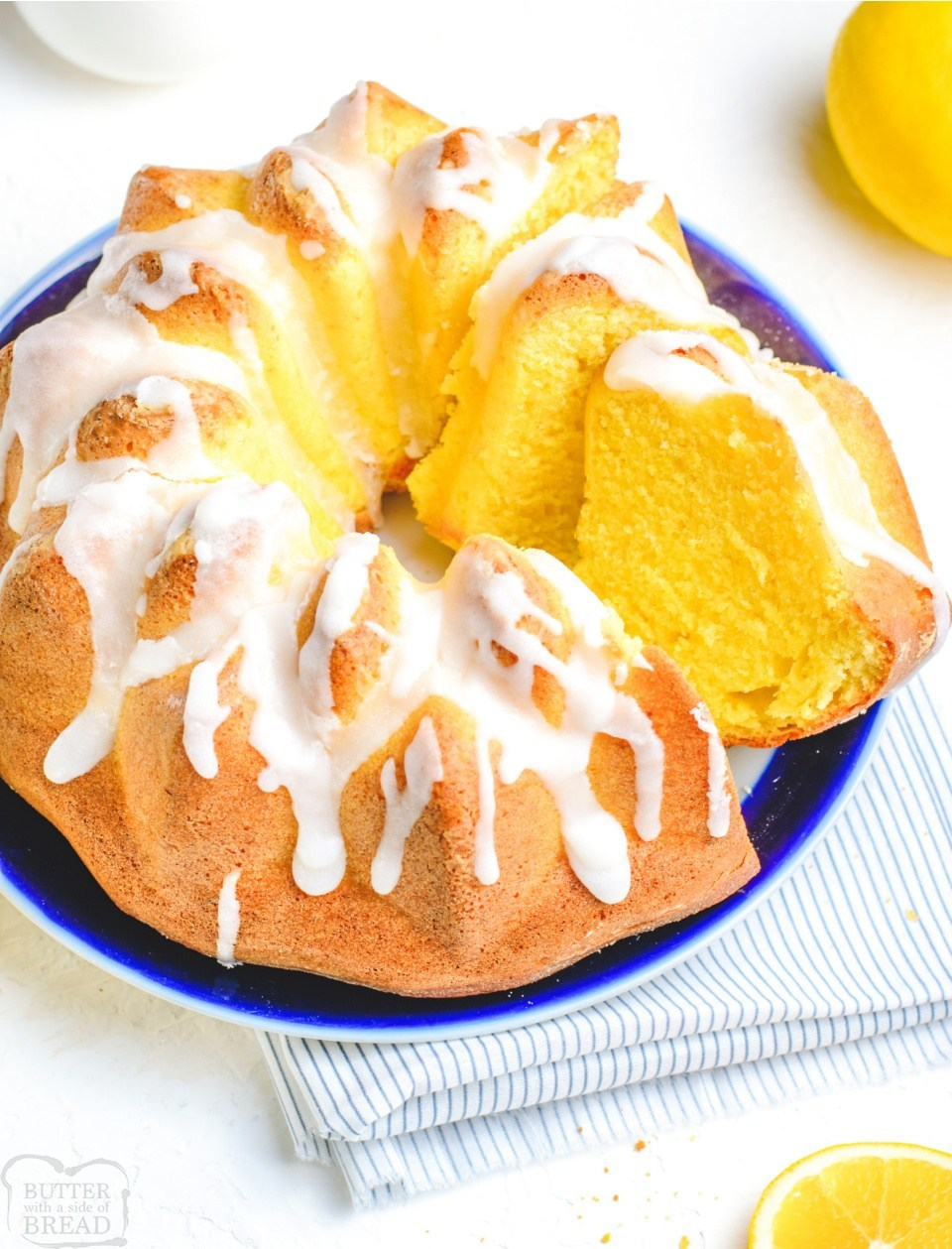 Iced Lemon Bundt Cake recipe