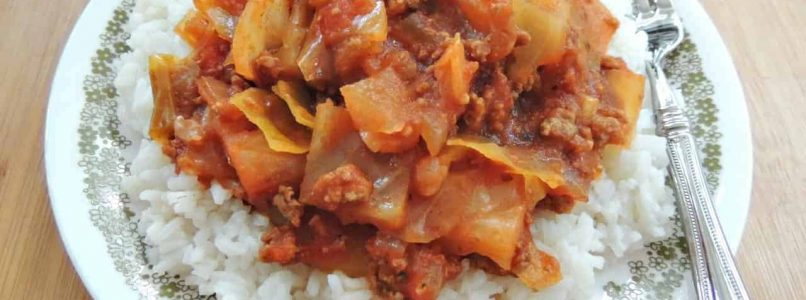 Slow Cooker Cabbage Casserole Recipe