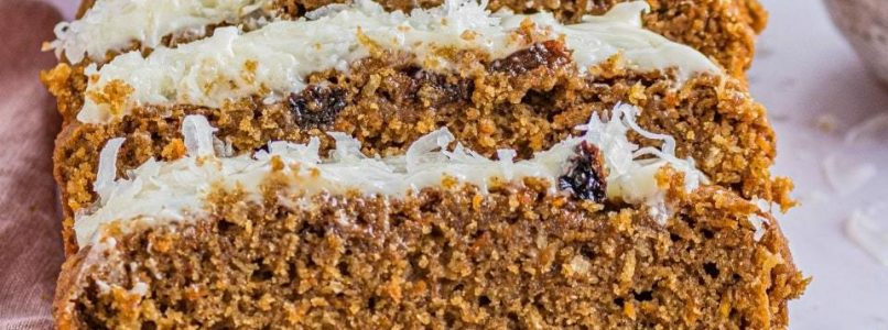 CARROT CAKE BREAD - Butter with a Side of Bread