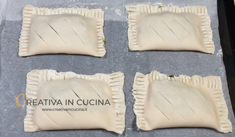 Fagottini with ricotta and turnip greens recipe by Creativa in the kitchen