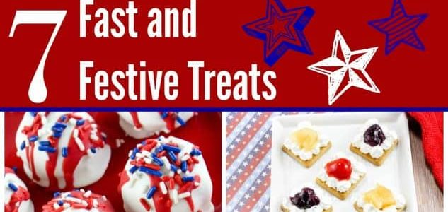 7 Fast and Festive Recipes for the 4th of July