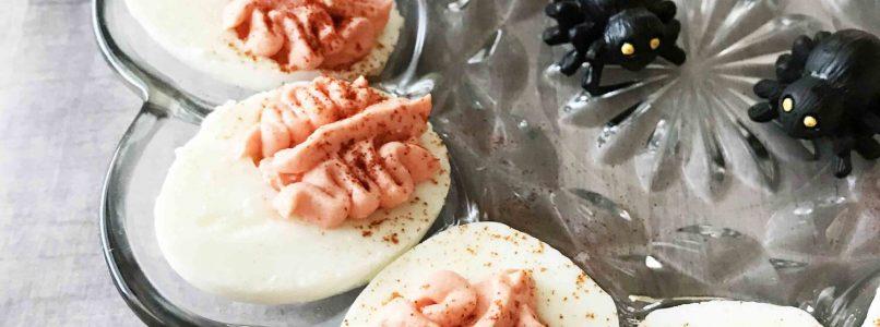 'Brain' Deviled Eggs — The Skinny Fork