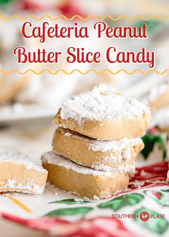 Cafeteria Peanut Butter Slice Candy