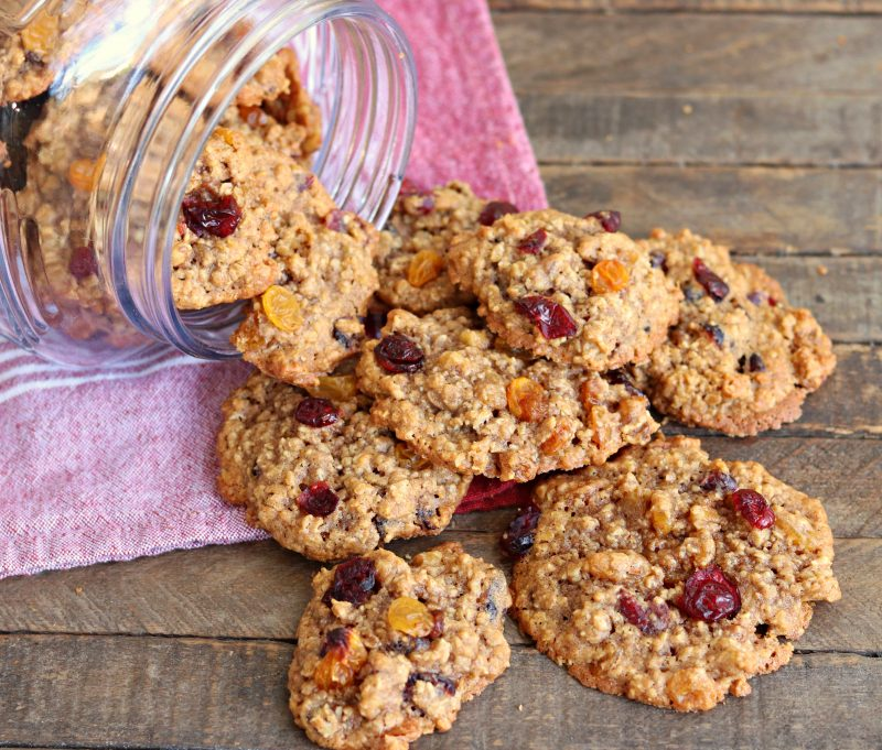 Chewy Loaded Oatmeal Cookies - Southern Plate