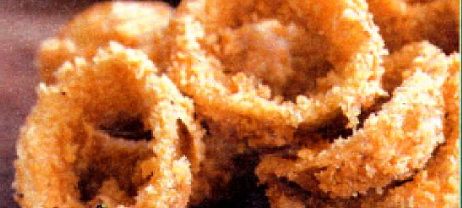Cooking Recipe Fried onion rings