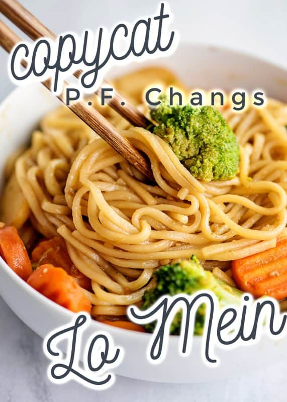 CopyCat P.F. Chang's Lo Mein