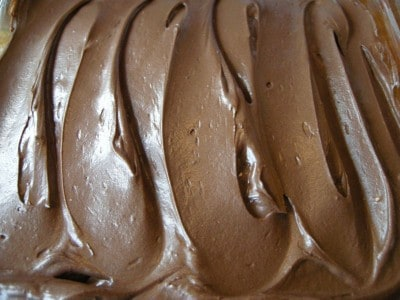 Creamy Chocolate Frosting! THE BEST!