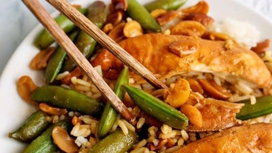 Crock Pot Cashew Chicken - Southern Plate